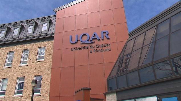 Façade de l'UQAR.