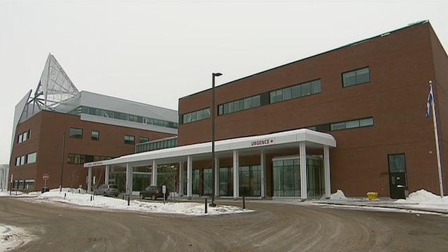 L'hôpital de La Malbaie.