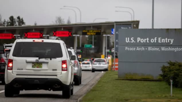 The land border, such as the Douglas-Peace Arch border crossing in Surrey, B.C., has been closed to travellers entering the U.S. from Canada since March 2020. While Canada has announced plans to allow fully vaccinated Americans into the country and skip quarantine, the U.S. has only said its side of the land border will remain closed to non-essential travel until at least Aug. 21.