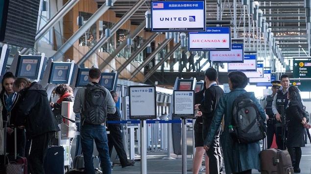 L'aéroport international de Vancouver