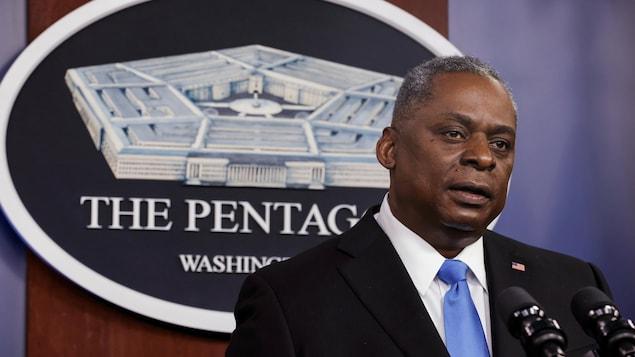 Le secrétaire à la Défense, Lloyd Austin
