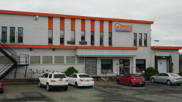 L'usine de Maple Leaf à Saint-Anselme.