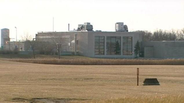 L'usine de traitement des eaux usées, dans le sud de Winnipeg