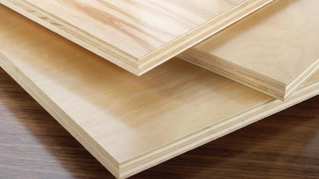 Placages de bois.