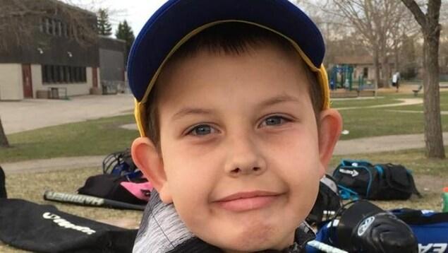 Le jeune Quinn Kriewald.