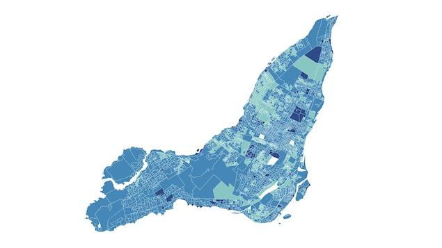 Carte représentant le pourcentage des 12 ans et plus ayant reçu deux doses à Montréal en date du 26 juillet 2021.