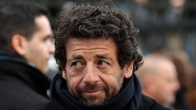 Le chanteur français Patrick Bruel