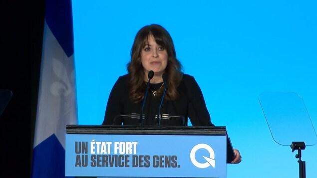 La vice-chef du Parti québécois Véronique Hivon.