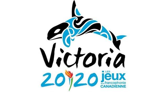 Le logo des jeux de 2020 représente un orque et une flamme olympique.