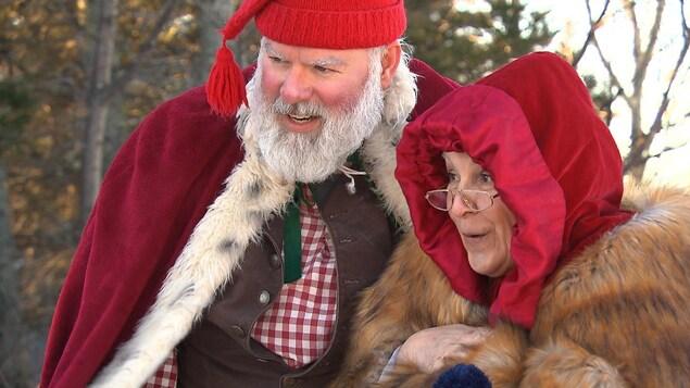 Le père et la mère Noël ajoutent cette essentielle dose de magie.