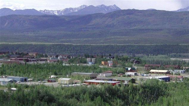 Le village de Faro au Yukon.