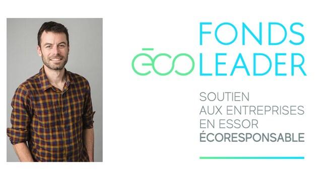 Vincent Carbonnelle est l'agent du Fonds Écoleader pour la Côte-Nord.