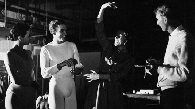 Vincent Warren et Ludmilla Chiriaeff