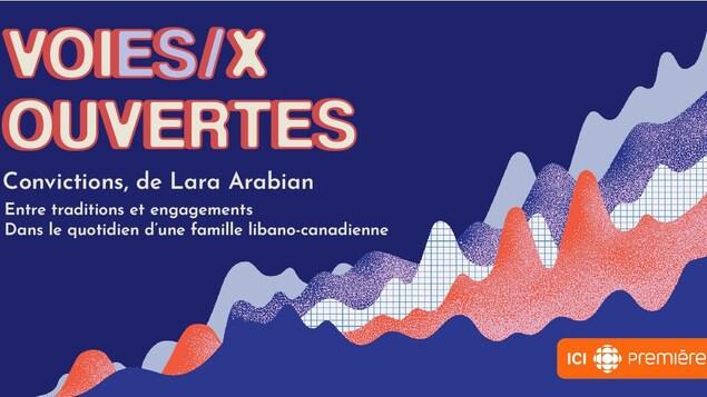 « Voies/x ouvertes », une série audio d'ICI RADIO-CANADA PREMIÈRE.
