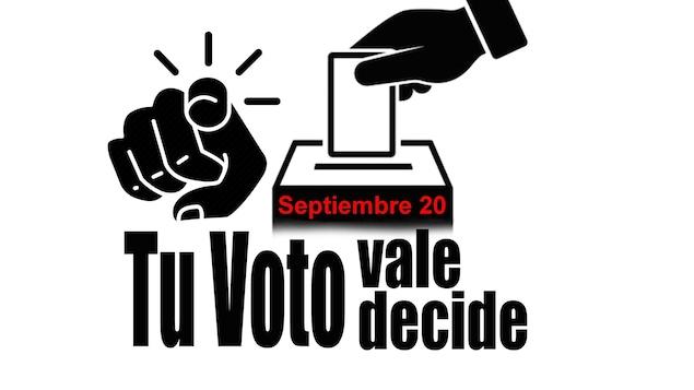 Affiche de l'école civique School4Civic du Conseil du patrimoine hispanique du Canada (HCHC) pour faire sortir le vote des hispanophones.