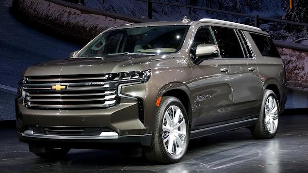 Un Chevrolet Suburban 2021
