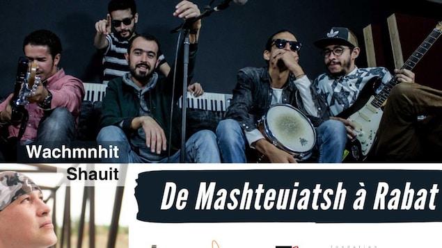 De Mashteuiatsh à Rabat, une rencontre musicale entre Shauit et Wachm'n Hit