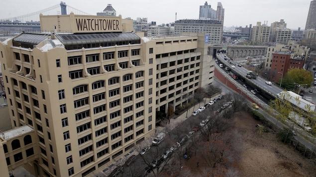 La société Watchtower à New York en 2015