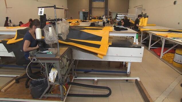 L'usine MegaSecur de Victoriaville compte 28 employés et fonctionne à plein régime.