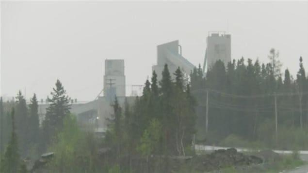 La mine Westwood d'Iamgold, près de Rouyn-Noranda en Abitibi-Témiscamingue
