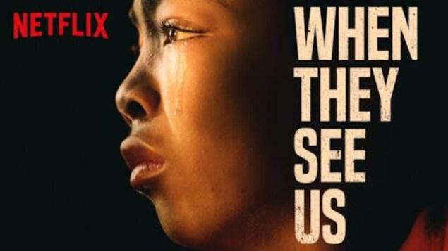 L'affiche promotionnelle de la série « Dans leur regard ».