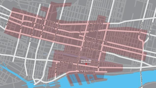 Le réseau public sans fil comprend de nouvelles zones: le centre-ville, le Quartier des spectacles, le Quartier de l'Innovation et le parc Jeanne Mance.