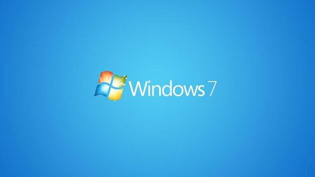Logo du système d'exploitation Windows 7.