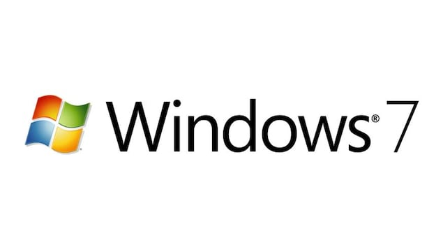 Le logo de Windows 7.