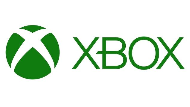 Le logo de la Xbox de Microsoft, en vert sur fond blanc.