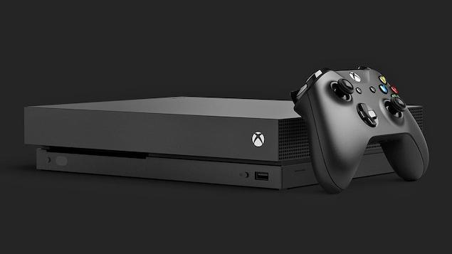 La Xbox One X, de Microsoft.
