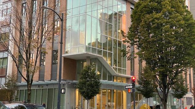 L'immeuble du 1101 rue Seymour à Vancouver.
