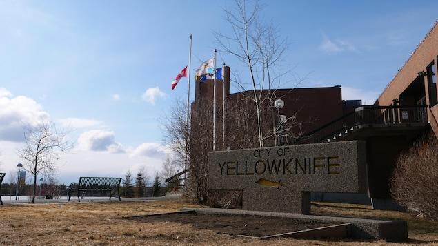 La mairie de Yellowknife.