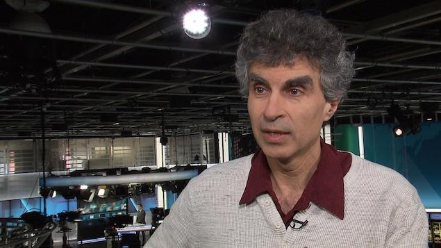 Yoshua Bengio, chercheur en intelligence artificielle et professeur titulaire à l'Université de Montréal.