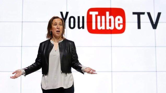 La PDG de YouTube, Susan Wojicki