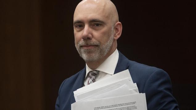 Le directeur parlementaire du budget, Yves Giroux.