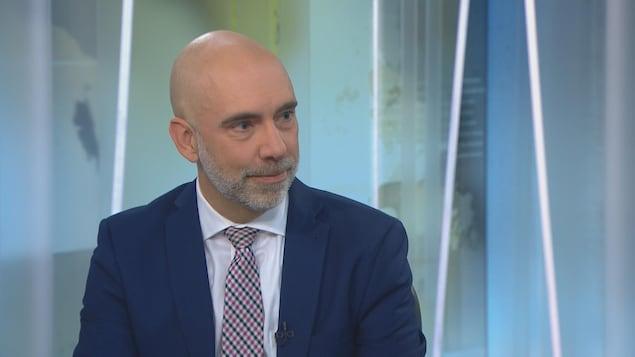Le directeur parlementaire du budget (DPB), Yves Giroux.