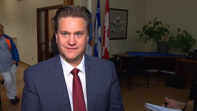 Yves Montigny est le maire de Baie-Comeau