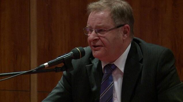 Le conseiller municipal de Baie-Comeau, Yvon Boudreau