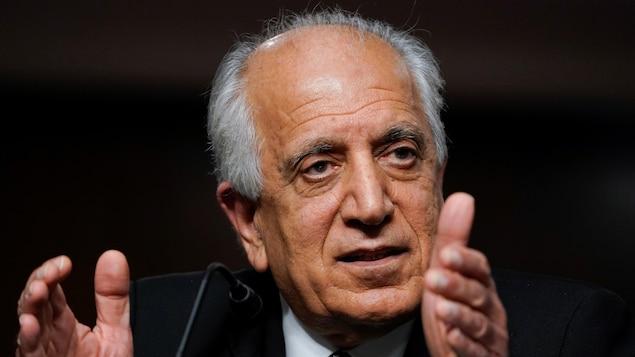 Zalmay Khalilzad, en avril dernier à Washington.