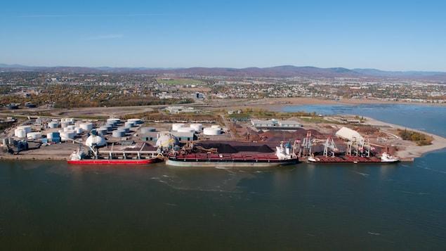 Zone d'innovation, secteur du Port de Québec