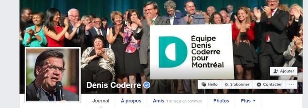 Profil public du maire sortant de Montréal, Denis Coderre