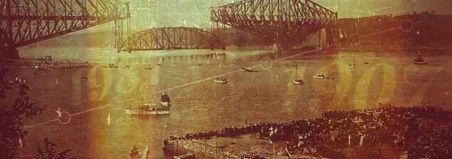 Quelques dates importantes dans l'histoire du pont de Québec