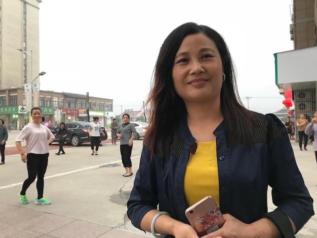 Hao Mei, mère d'un candidat au Gaokao. Maotanchang, mai 2018.