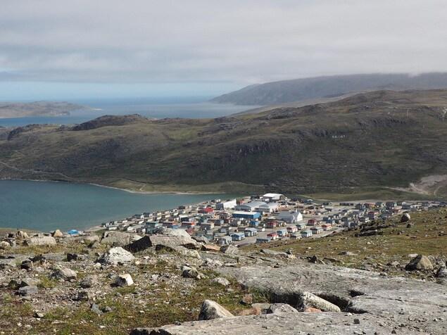 Le village de Salluit au Nunavik