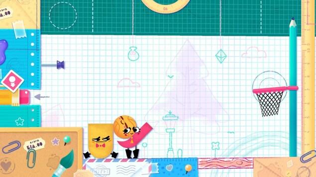 Le jeu vidéo Snippperclips est en vente sur la Nintendo Switch.