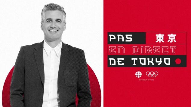 Visuel de l'émission avec Olivier Niquet.