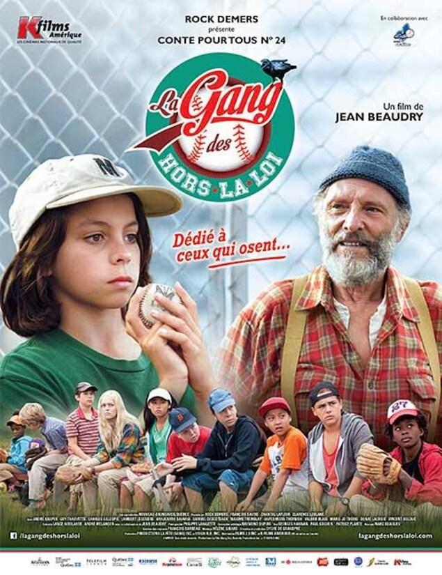 Affiche du film La Gang des hors la loi