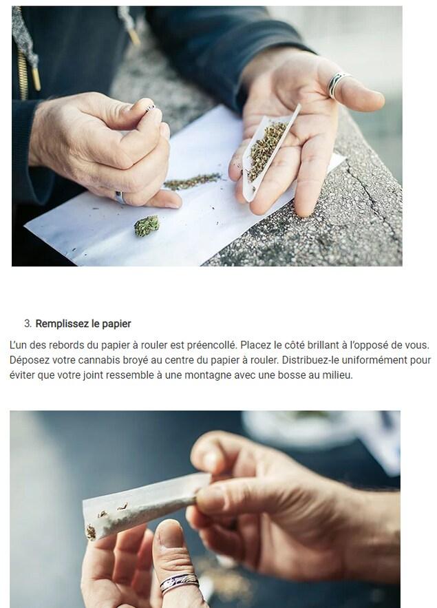 Capture d'écran du site cannabis-nb.com le 17 octobre 2018.