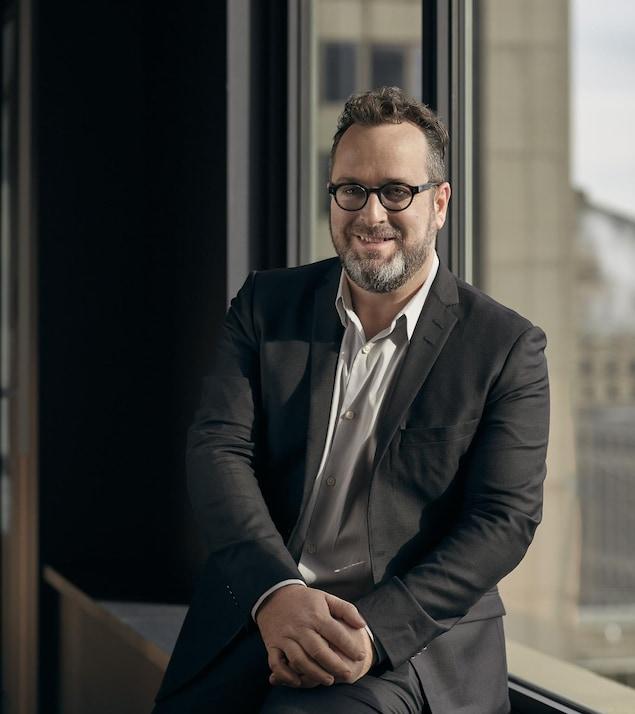 Martin Leblanc, associé principal et cofondateur de la firme Sid Lee architecte