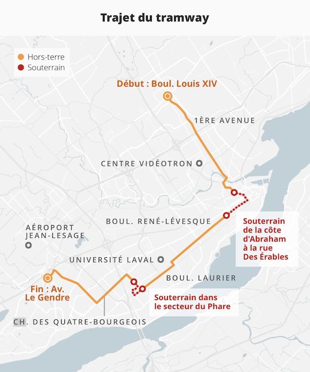 Le trajet partira du boulevard Louis XIV et prendra fin sur l'avenue Le Gendre.